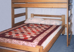 Tennessee Home Wood Working L Shape Bunk